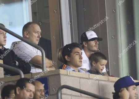 Ted Beckham, David Beckham, Cruz Beckham