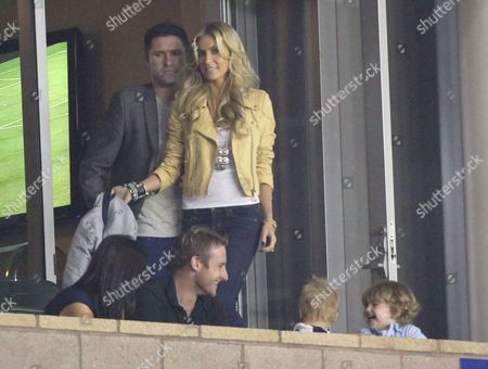 Robbie Keane and Claudine Keane