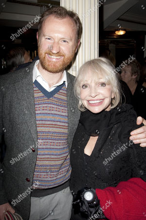 Mark Gatiss and Katy Manning