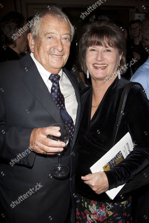 Stock Photo of Derek Fowlds and Diana Hoddinott
