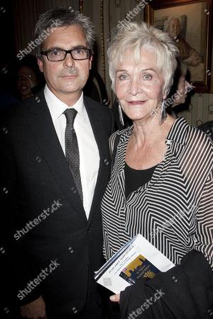 Matthew Byam Shaw and Sheila Hancock