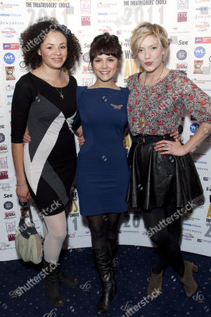 Carlyss Peer, Annabel Scholey and Robyn Addison