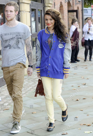 Craig Monk and Cher Lloyd