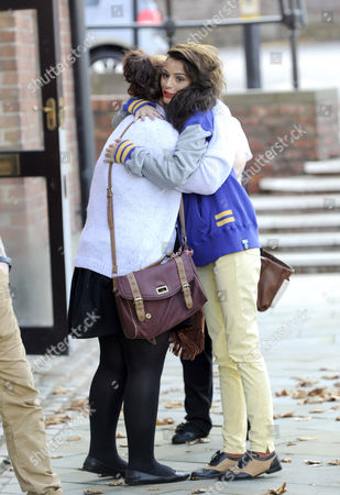 Cher Lloyd cuddles a fan
