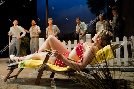 Editorial image of 'Cool Hand Luke' play at Aldwych Theatre, London, Britain - 28 Sep 2011