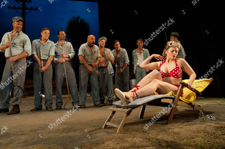 Editorial picture of 'Cool Hand Luke' play at Aldwych Theatre, London, Britain - 28 Sep 2011