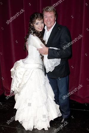 Sofia Escobar and Michael Crawford