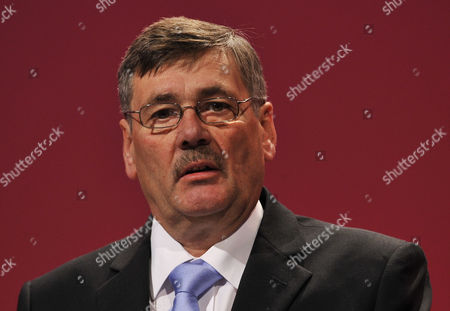Stock Photo of Labour Party Annual Conference At Manchester Central Convention Centre.- Labour Party Shadow Defence Sec. Bob Ainsworth.