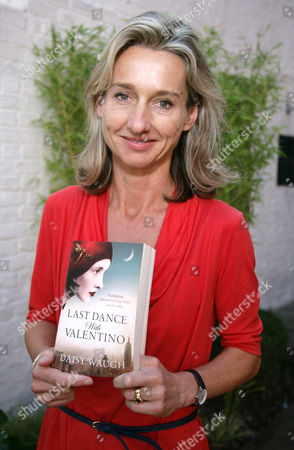 Daisy Waugh with her book 'Last Dance With Valentino'
