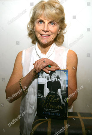 Anne Sebba with her book 'That Woman'