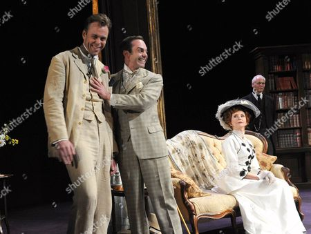 Editorial photo of 'The Importance of Being Earnest' play at The Rose Theatre, Kingston, Britain - 22 Sep 2011