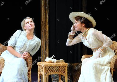 'The Importance of Being Earnest' - Jenny Rainsford as Cecily and Kirsty Besterman as Gwendolen