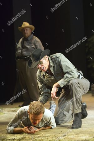 'Cool Hand Luke' - Kenneth Jay as Boss Kean, Richard Brake as Boss Godfrey and Marc Warren as Luke
