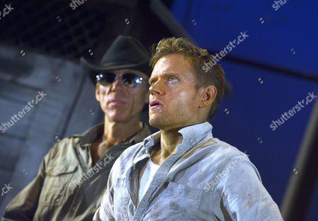 'Cool Hand Luke' - Richard Brake as Boss Godfrey and Marc Warren as Luke