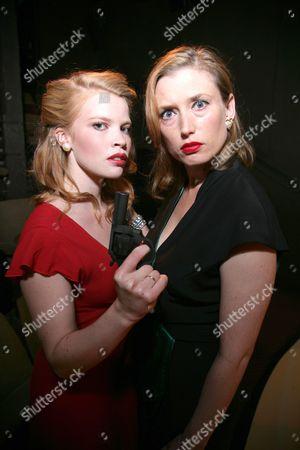 Anna Doolan and Samantha Coughlan