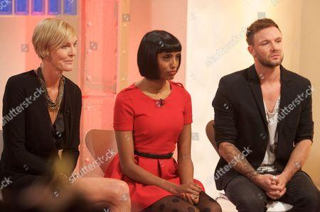 Laury Smith, Natalya Nair and Jamie Stevens