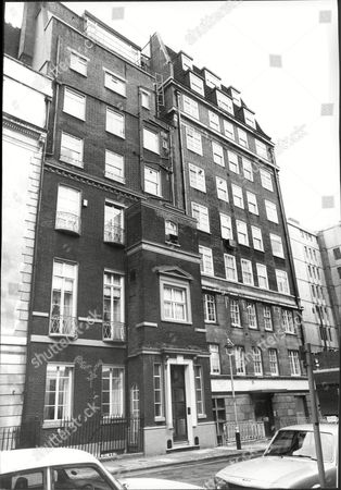 Editorial photo of No. 8 Curzon Place Home Of Sir John Woolf.