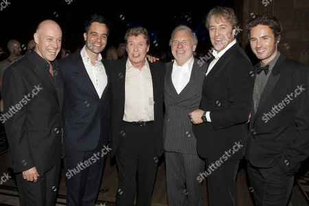 Anthony Warlow, Ramin Karimloo (The Phantom of the Opera), Michael Crawford, Colm Wilkinson, John Owen-Jones and Peter Joback