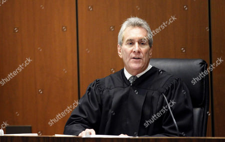 Judge Michael E. Pastor addresses the courtroom