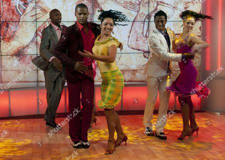 Nilda Guerra and Dancers