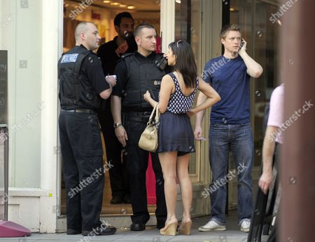 Editorial image of Roxanne Pallett and Neil Toon, Manchester, Britain - 30 Sep 2011
