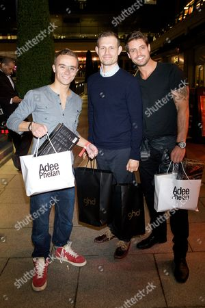 Jack P Shepherd, Ben Price and Keith Duffy