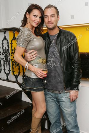 Lizzie Cundy and Calum Best