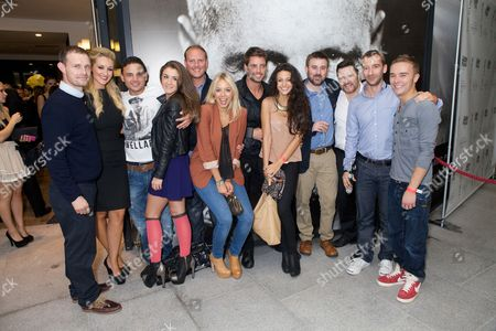 Ben Price, Catherine Tyldesley, Ryan Thomas, Brooke Vincent, Antony Cotton, Sacha Parkinson, Keith Duffy, Michelle Keegan, Graeme Hawley, Ian Pulestone-Davies, Charlie Condou and Jack P Shepherd