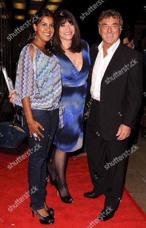 Pooja Shah, Billy Murray and wife Elaine Murray