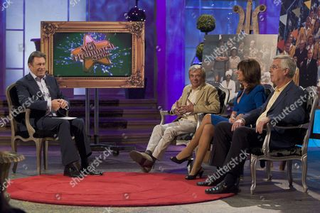 Alan Titchmarsh with Melvyn Hayes, Vicki Michelle and Jeffrey Holland