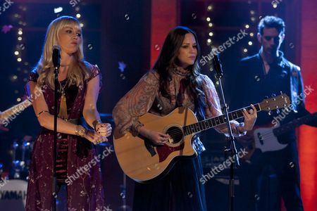 Stock Picture of The Pierces - Catherine Pierce and Alison Pierce