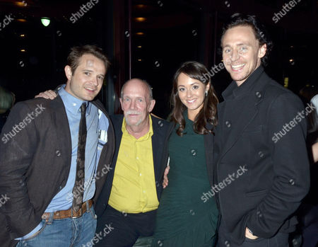 Oliver Dimsale, Hugh Ross, Susannah Fielding and Tom Hiddleston