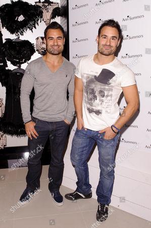 Stock Photo of Dino and Georgio Georgiades