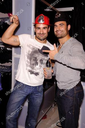 Stock Image of Dino and Georgio Georgiades