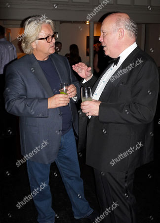 Stock Picture of David Emanuel and Julian Fellowes