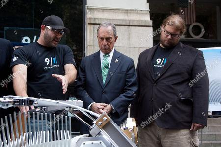 Paul Teutul Jr., Mayor Michael Bloomberg, Mikey Teutul