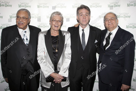 James Earl Jones (Hoke Coleburn), Vanessa Redgrave (Daisy Werthan), Boyd Gaines (Boolie Werthan) and Alfred Uhry (Author)