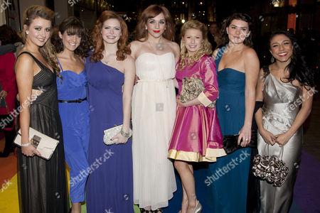 Emilie Fleming, Laren Samuels, Sophie Evans (Alternate Dorothy), Jessica Robinson, Bronte Barbe, Dani Rayner and Stephanie Fearon