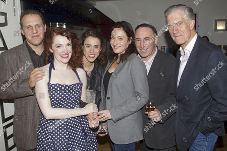 Nigel Lindsay (Dr Harry Hyman), Madeleine Potter (Margaret Hyman), Emily Bruni (Harriet), Lucy Cohu (Sylvia Gellburg), Antony Sher (Philip Gellburg) and Brian Protheroe (Stanton Case)