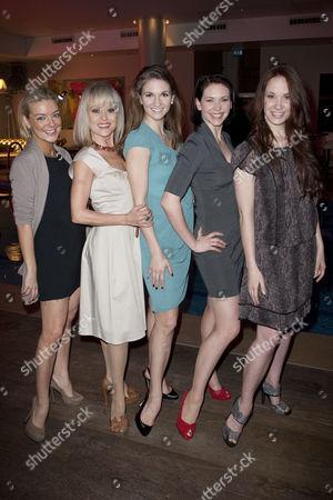 Sheridan Smith, Tracie Bennett, Summer Strallen, Emma Williams and Sierra Boggess