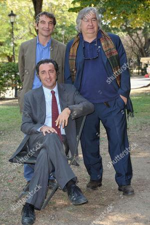 Director Paolo Sorrentino, Producer Nicola Giuliano, Screenplayer Umberto Contarello