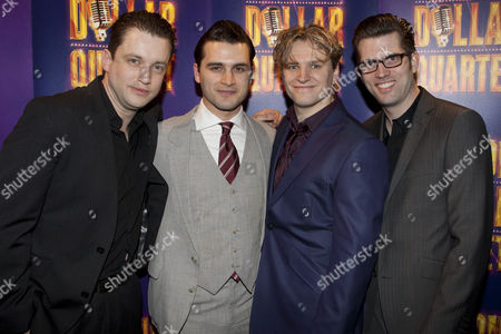 Editorial photo of 'The Million Dollar Quartet' press night after party at Ruby Blue, London, Britain - 28 Feb 2011