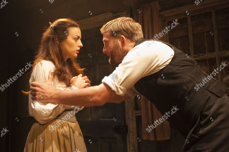 Stock Image of 'Mixed Marriage' - Nora-Jane Noone as Nora and Christopher Brandon as Hugh Rainey