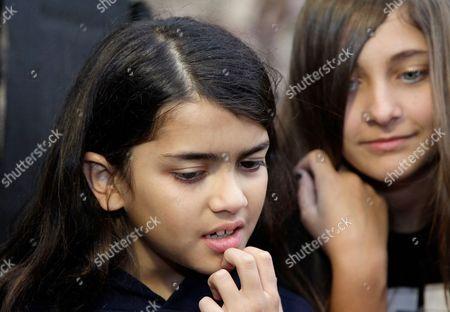 Editorial image of Michael Jackson's children visit Phantasialand, Bruehl, Germany - 06 Oct 2011