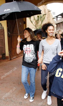 Stock Photo of Paris-Michael Katherine Jackson and cousin Blanks