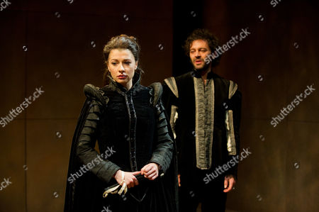 'Phoenix of Madrid' - Frances McNamee (as Beatriz) and Milo Twomey (as Don Alonso)