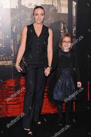 Stock Image of Amanda Abbington and Millie Innes
