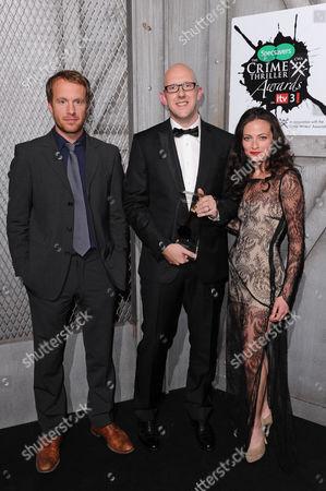 Geoffrey Straetfeild, S J Watson and Lara Pulver