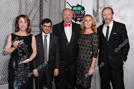 Editorial picture of Crime Thriller Awards, Grosvenor Hotel, London, Britain - 07 Oct 2011
