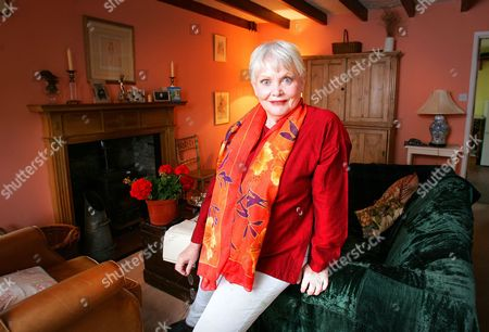 Editorial picture of Diane Cilento at her son's house in the Scottish Borders, Scotland, Britain - 11 Aug 2006